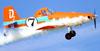 """Air Tractor AT-400A, N3159D, da Rustys Flying Service, usado para divulgar o filme """"Aviões"""", da Disney. (29/07/2013) Foto: Celia Passerani."""
