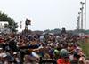 Público acompanhando o show aéreo. (01/08/2014) Foto: Celia Passerani.