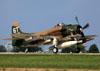 Douglas AD-1 Skyraider, N2AD. (02/08/2014) Foto: Celia Passerani.
