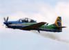 Embraer EMB-314 Super Tucano (A-29B), FAB 5963, da Esquadrilha da Fumaça (EDA - Esquadrão de Demonstração Aérea) da FAB (Força Aérea Brasileira). (09/10/2016)
