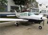 Piper /Neiva EMB-711C Corisco, PT-NKH, do Aeroclube de São Paulo. (20/08/2017)