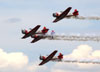 North American T-6 Texan do Aeroshell Aerobatic Team. (24/04/2015) Foto: Celia Passerani.